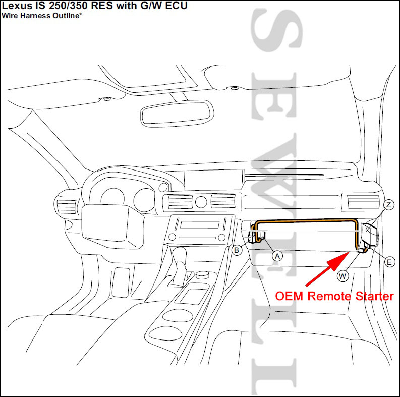 Surprising Lexus Is250 350 2014 15 Wiring Cloud Hisonuggs Outletorg